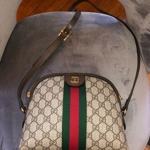Gucci linea dragon GG Supreme Canvas Small bag